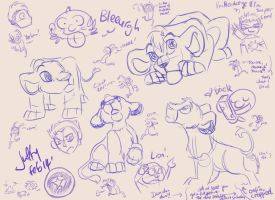 Sketch dump by Juffs