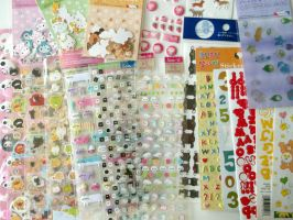 Sticker Collection by blushampo0