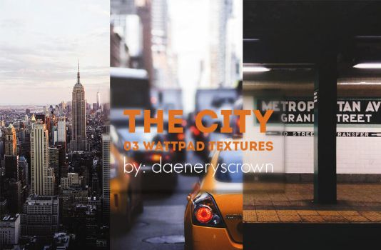 Texture Pack #01 - The City by daeneryscrown