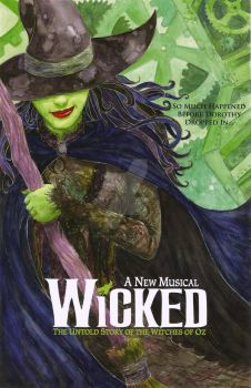 Wicked The Musical by Vanilla12789