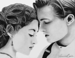 ~My heart will go on ~  Jack and Rose in Titanic by GennyShelly98