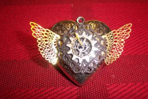 silver sailor moon locket by TimelessCharm