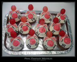 Cupcake: Final Fantasy Moogles by simonsaz3