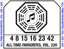 CD Cover Dharma Initiative by CmdrKerner
