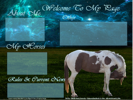 Star Howrse Layout by BellaWolf21
