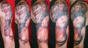 zombie sleeve by SimplyTattoo