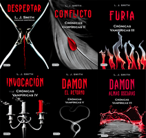 + Saga The Vampires Diaries (Libros PDF) by DreamsPacks