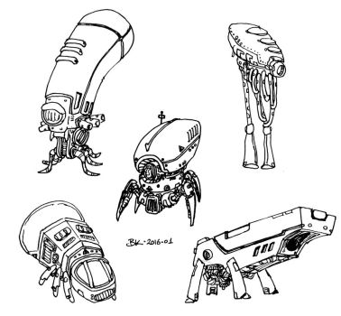 Some Robots by bmkorkut