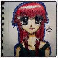 Red Head by leafyloo