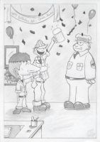 Me and Beetle Bailey by alanpedro