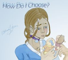 A Tough Choice by AthenaNina