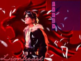 Squall In Red by shintatenoh