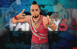 Far Cry 3 - Vaas Montenegro #2 by SeBiNoDraw