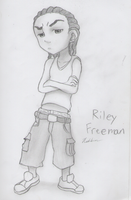 Riley 'Young-Reezy' Freeman by drawing-wannabe
