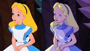 Disney's Alice Recoloring by nilw