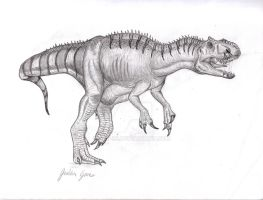Allosaurus by Art-26