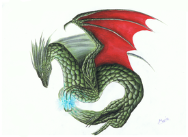 Random Copic Dragon by Dragoma