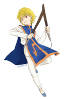 HxH: Kurapika by dwainio