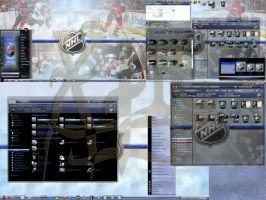 NHL 7 2010 win7 theme by X-ile by X-ile2010
