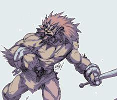 LEO FIGHTER by toonfed