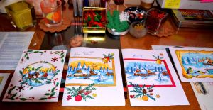 Xmas Cards Designs 2014 4 by lilie1111
