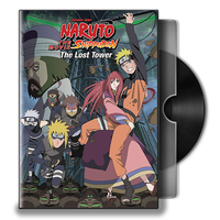 Naruto Shippuden Movie 4 DVD Folder Icon by Omegas82128