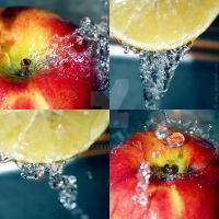 apple and lemon by xTive