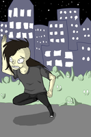 Skrillex zombies by PhthaIo