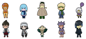 Pokemon Mystery Adoptables Set 5 (Closed) by SuperHeroPattyFatty