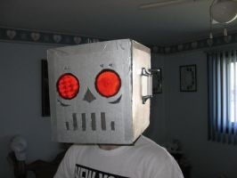 Robot Mask by Chicken008