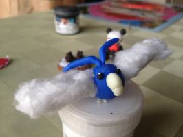 fimo swablu by magicalyuki