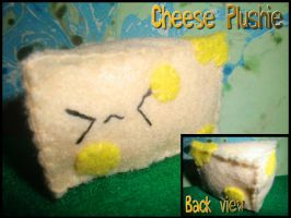 Cheese plushie by Tammyyy