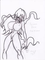 SAMARA DARK SEXY SKETCH GIFTART by boodyismpillow by DEVIOUS-DISCORD-RP