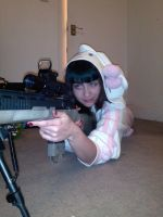 Hello Kitty is actually a Pro Sniper the Second by faramon