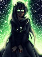The witch of Space by Hikiko-chan