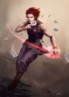 Hisoka Hunter X Hunter by luffie