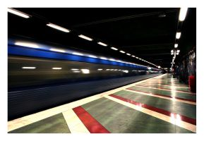 the blue line by Lapse