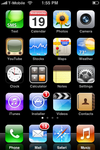 Custom iPhone Springboard by m0rphzilla