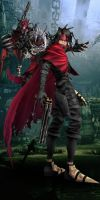 Final Fantasy VII Vincent Valentine Dungeon by hieri