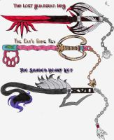 Custom Keyblades by Twilit-Guardian