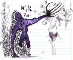 Milk in pain by Matarel