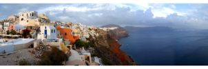 Oia, Santorini Greece by Voldeforr