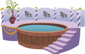 ponyville Background Spa by zigrock001