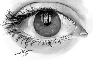 (EYE) - Can Always Be Found by A-Man-With-No-Art