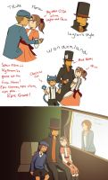 Layton doodles by NeipyPien