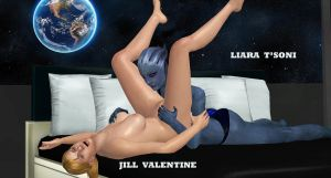 Liara-Jill    INTER-SPECIES-LOVE by blw7920