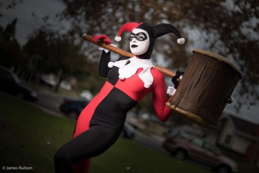 Harley Quinn - Silly B-Man by Enasni-V