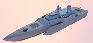 Littoral Combat Ship1 by kaasjager