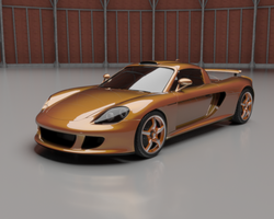 Porsche Carrera GT by sabrefresco