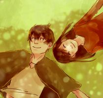 ROTG: Jack and his sister by DecemberComes